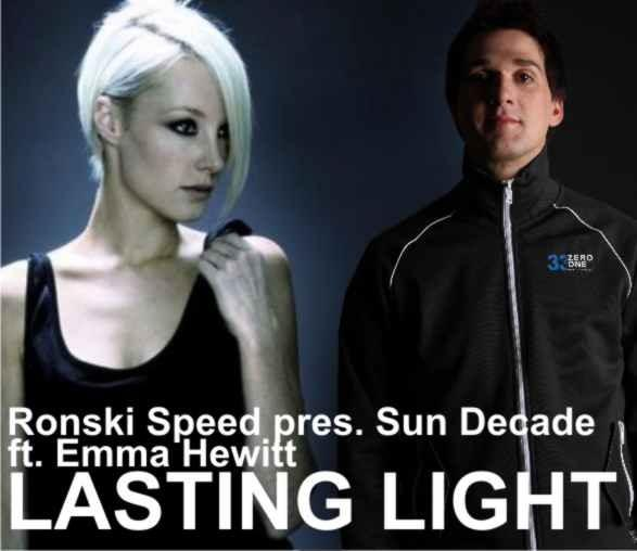 Ronski Speed pres Sun Decade Ft Emma Hewitt - Lasting Light