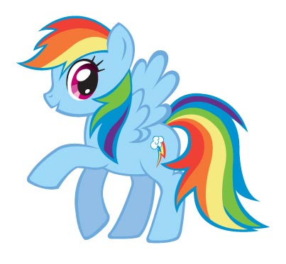 My Little Pony. Rainbow Dash - You're Gonna Go Far Kid